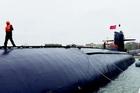 我国首艘核潜艇退役进驻海军博物馆
