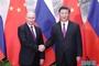 6月8日,国家主席习近平在北京人民大会堂同俄罗斯总统普京举行会谈。 新华社记者 鞠鹏 摄