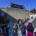 全国网媒冬日登临雁门关 景区打造旅游演艺体验产品